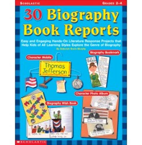 Non-fiction Book Report printable pdf download
